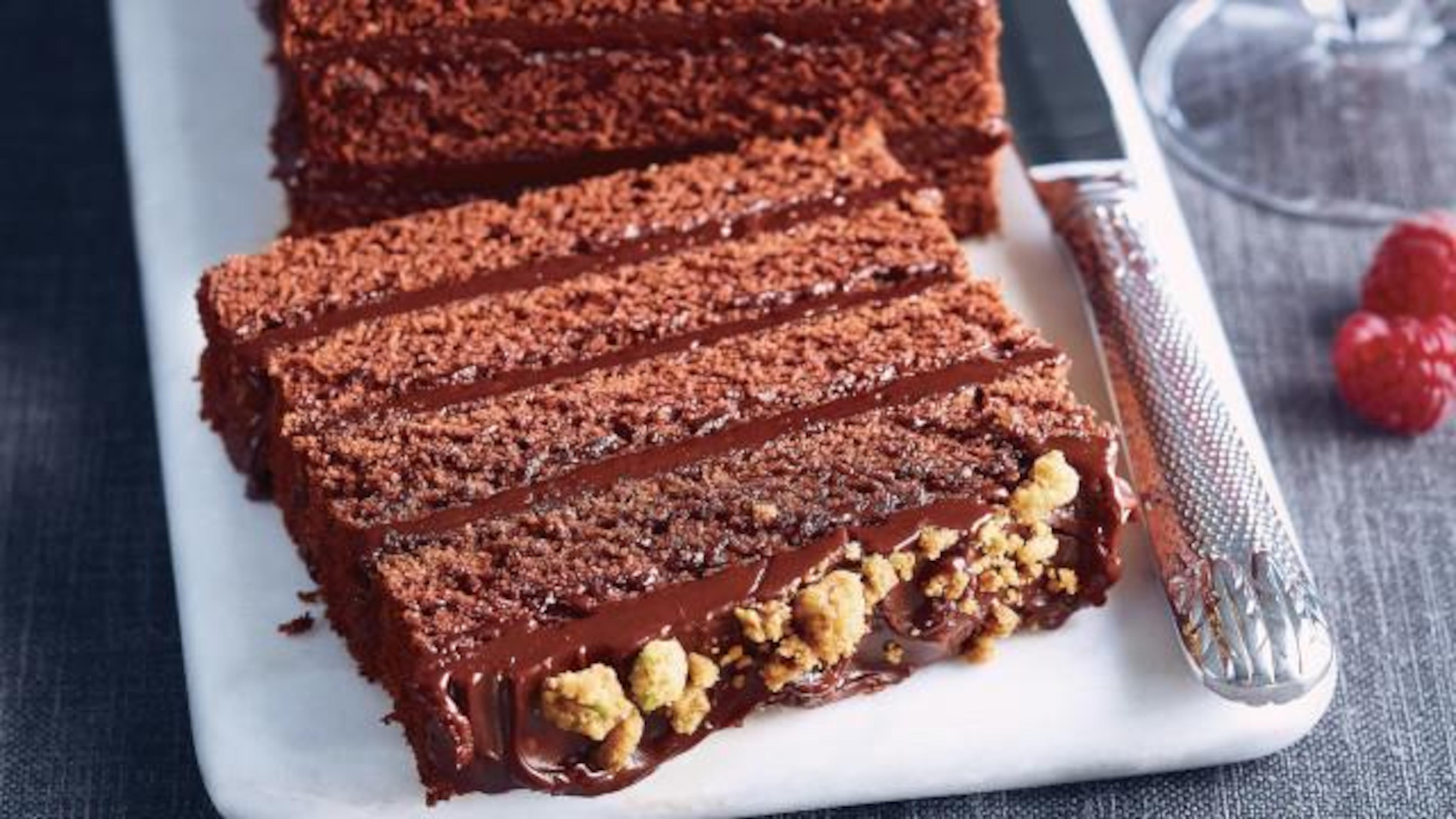 Gateau au chocolat de noel de ricardo