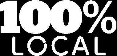 100% local