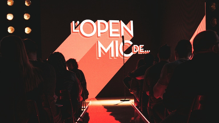 L'Open Mic de…